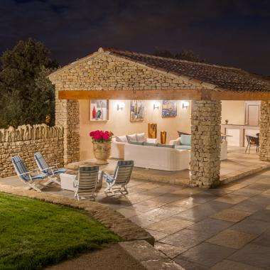 Le Jas de Gordes - le pool-house